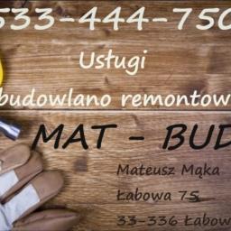 Mat-Bud Mateusz Mąka - Ocieplanie poddaszy Nowy Sącz