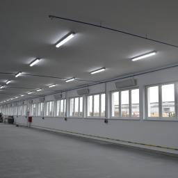 Ogrzewanie panelami w technologii podczerwieni hali o powierzchni 2200 mkw.