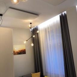 Ogrzewanie w technologii podczerwieni zamontowane w apartamencie do wynajmu.