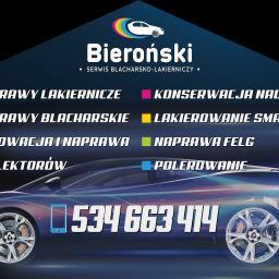 Serwis Blacharsko-Lakierniczy Przemysław Bieroński - Opony, koła, felgi Jędrzejów