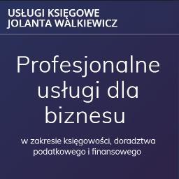 Usługi księgowe Jolanta Walkiewicz - Pisma, wnioski, podania Warszawa