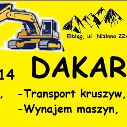 DAKAR - Firma Wyburzeniowa Elbląg