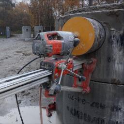 DEJV-BUD Cięcie i Wiercenie otworów w betonie, Technika Diamentowa - Fundamenty Pod Dom Uniejów
