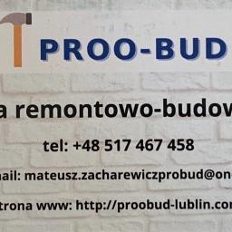 Proo-Bud Mateusz Zacharewicz - Remonty mieszkań Lublin
