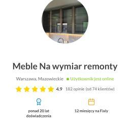 meble na - Stolarz Warszawa