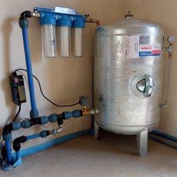 Wykonujemy również przyłącza wody do budynku
