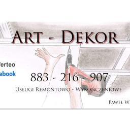 Art-Dekor - Remont łazienki Elbląg