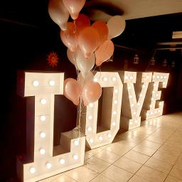 Napis LOVE 130cm do wynajmu