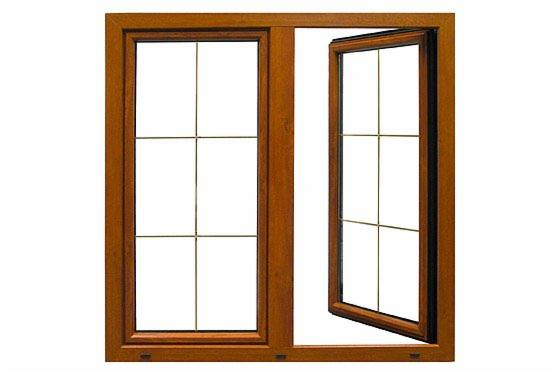 Okna drewniane jednoszybowe