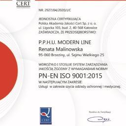PPHU Modernline - Krawiectwo Brzeziny