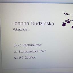 Joanna Dudzińska - Biuro rachunkowe Gdańsk