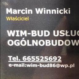 WIM-BUD Usługi Ogólnobudowlane - Płyty Betonowe Lipno