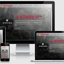 Strona internetowa firmy EDMAR.
