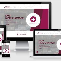 Strona www dla skupu nieruchomości.