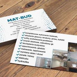 MAT-BUD Usługi Remontowo Budowlane Mateusz Pokrętowski Niemczewo 13 09-210 Drobin - Malowanie Mieszkań Drobin