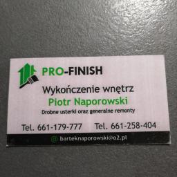 PRO-FINISH firma Remontowo-Budowlana - Szpachlowanie Kielce