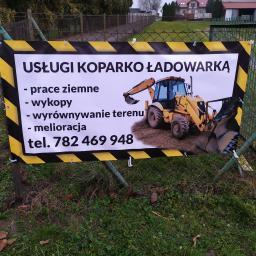 Usługi koparko ładowarką - Fundamenty Mełgiew