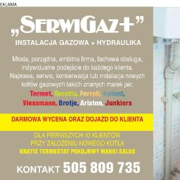 """""""SerwiGaz+"""" - Piece z Podajnikiem Warszawa"""