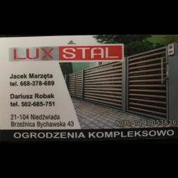 LUX STAL s.c. - Bramy Wjazdowe Kute Brzeźnica bychawska-Kolonia