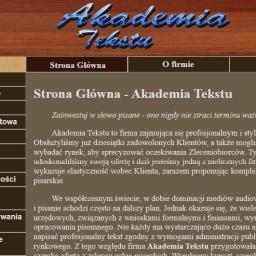 Akademia Tekstu - Agencja marketingowa Wągrowiec