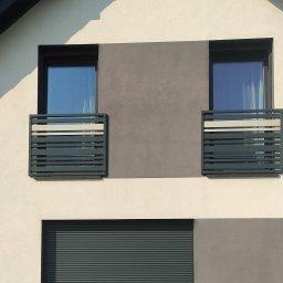 Francuskie balkony
