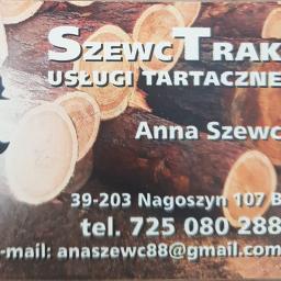 SzewcTrak uslugi tartaczne - Drewno Budowlane Nagoszyn