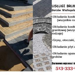 Krasbruk - Układanie kostki brukowej Gorzów Wielkopolski