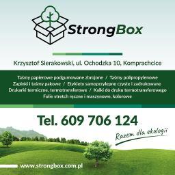 Krzysztof Sierakowski strongbox - Naklejki na Zamówienie Opole