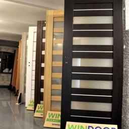 Wystawka drzwi w naszym biurze w Wałbrzychu.