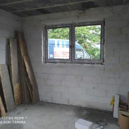Kupno i montaż okna w domku jednorodzinnym.