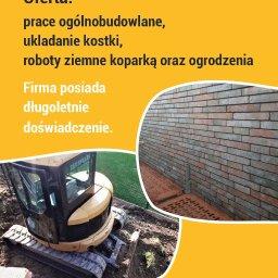 """FIRMA USŁUGOWO-PRODUKCYJNA """"GÓRALE"""" - Izolacja fundamentów Limanowa"""