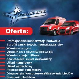 SpawMar-Serwis - Konserwacja pojazdów, antykorozyjne 66-615 Szczawno