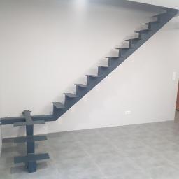 Konstrukcja metalowa na schody
