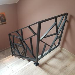 """Balustrady na schody w stylu"""" Misz Masz"""""""