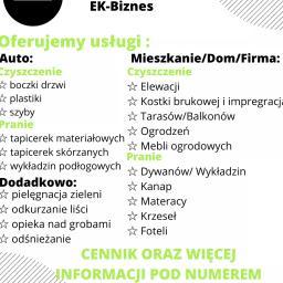 EK-BIZNES - Mycie Elewacji Kraków