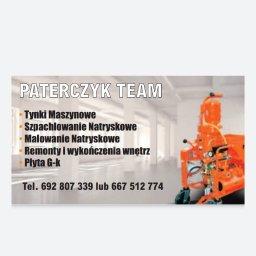Zakład Ogólnobudowlany Tadeusz Paterczyk - Płyta karton gips Śrem