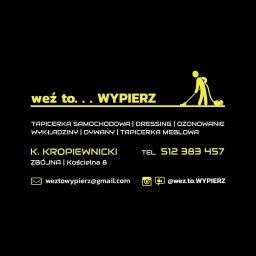Weź to wypierz mobilne pranie tapicerki Karol Kropiewnicki - Sprzątanie biur Łomża