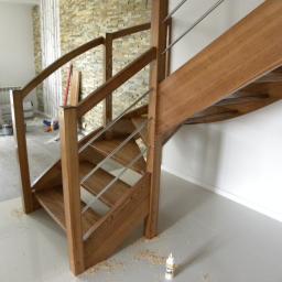 STOLARSTWO OGÓLNE - Schody, podłogi - Schody betonowe Zabierzów