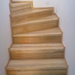 Schody drewniane Zabierzów 11