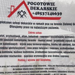 Pogotowie Dekarskie - Krycie dachów Zielona Góra