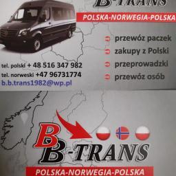 BBTRANS - Przewóz Mebli Czaplinek