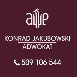 Kancelaria Adwokacka Adwokat Konrad Jakubowski - Obsługa prawna firm Zawiercie