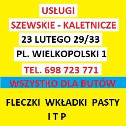 USŁUGI WYROBY SZEWSKIE KALETNICZE TAPICERSKIE - Kaletnik Poznań