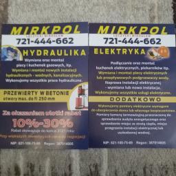 Mirkpol Łęczycki Mirosław - Montaż oświetlenia Węgrów