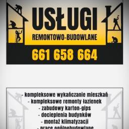Usługi remontowo budowlane Patryk Piórkowski - Firma remontowa Osielsko