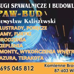 SPAW-BUD - Schody Zewnętrzne Stalowe Kamienne brody