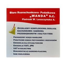 """Biuro Rozrachunkowo-Podatkowe """"WANDA"""" s.c. Pietrzak W., Leszczyńska A. - Doradca podatkowy Płońsk"""