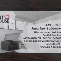 Art-House Jarosław Zaborowski - Remonty mieszkań Niechodzin