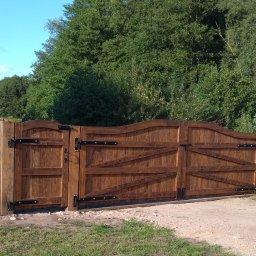 Ogrodzenia Drewniane Panelowe - Płoty Drewniane Lidzbark Warmiński