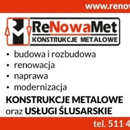 ReNowaMet Miłosz Chałubowicz - Bramy wjazdowe Grudziądz